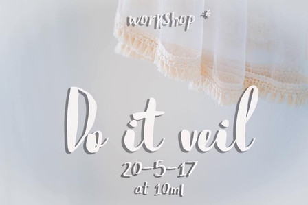 Do it veil: คลาส ดีไอวาย ที่ว่าที่เจ้าสาวคนไหนก็ทำได้