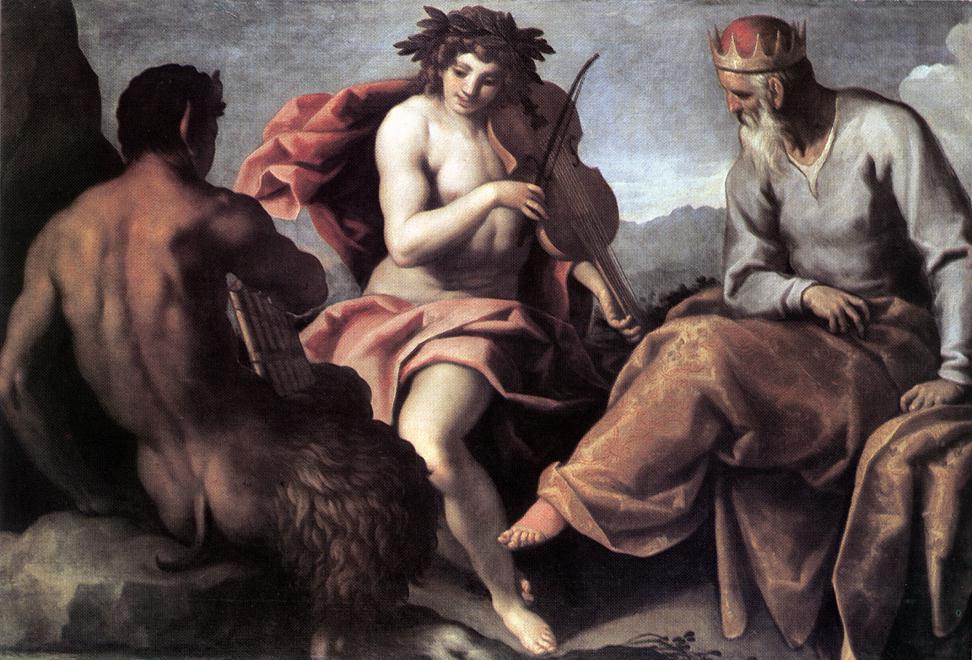 Jacopo Palma il Giovane, Apollo and Marsyas, 16th century
