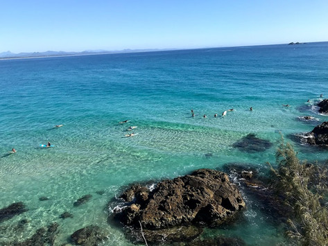 #9+#10// Byron Bay, surfer chic, bad tap water & a dead phone