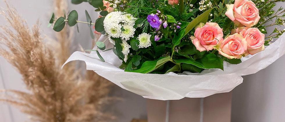 Single Red Rose Florist Choice Bouquet