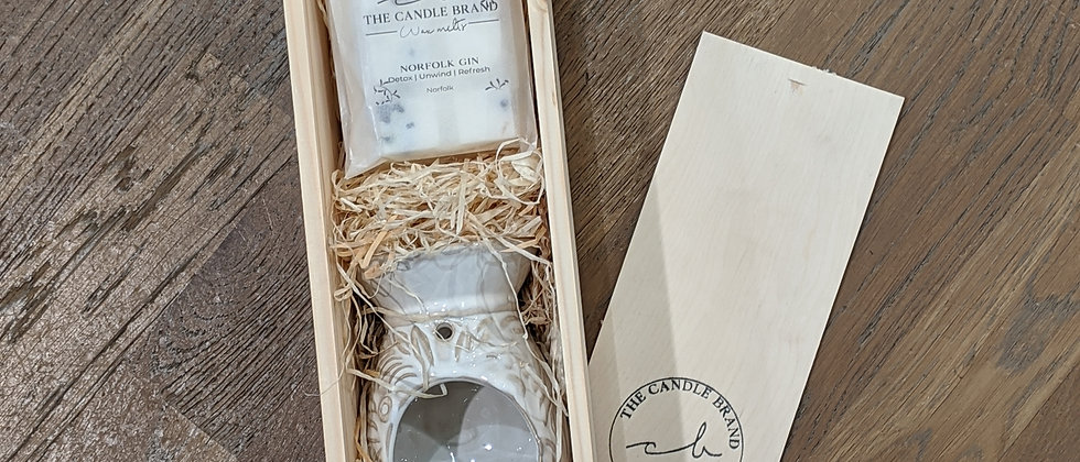 The Candle Brand: The Burner Gift Set