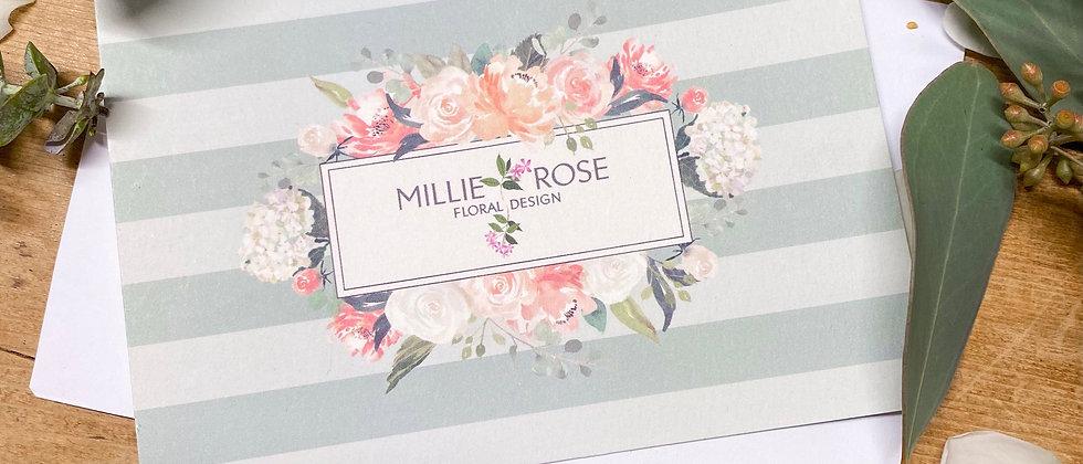 Millie Rose Floral Design Gift Voucher