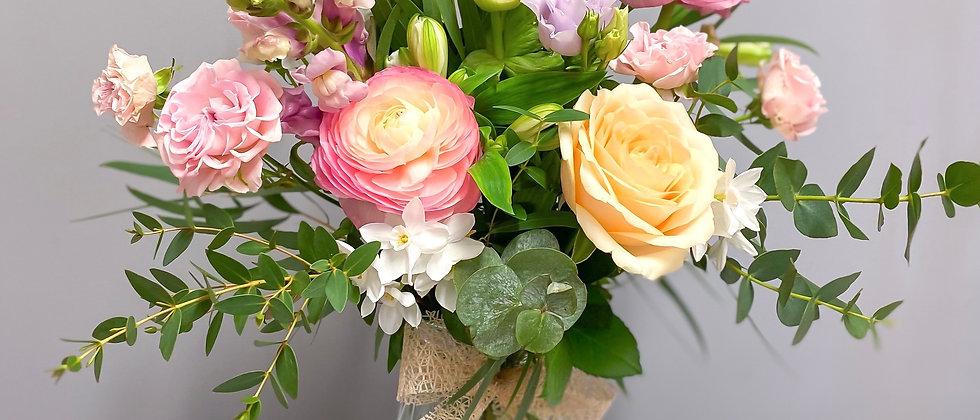 Mother's Day Floral Vase