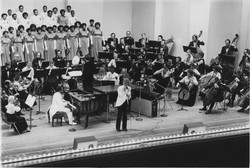 Richmond Symphony Larry Bland and the Volunteer Choir