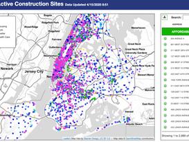 Active Construction Sites