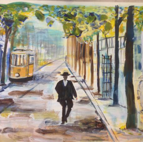 Witte de Withstraat rond 1900