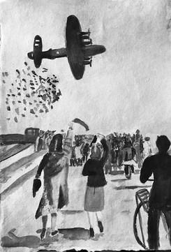 De bevrijding 5 mei 1945