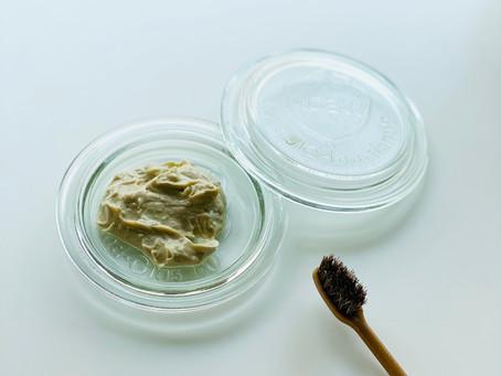 爽やかなミントが香る手作り歯磨き粉
