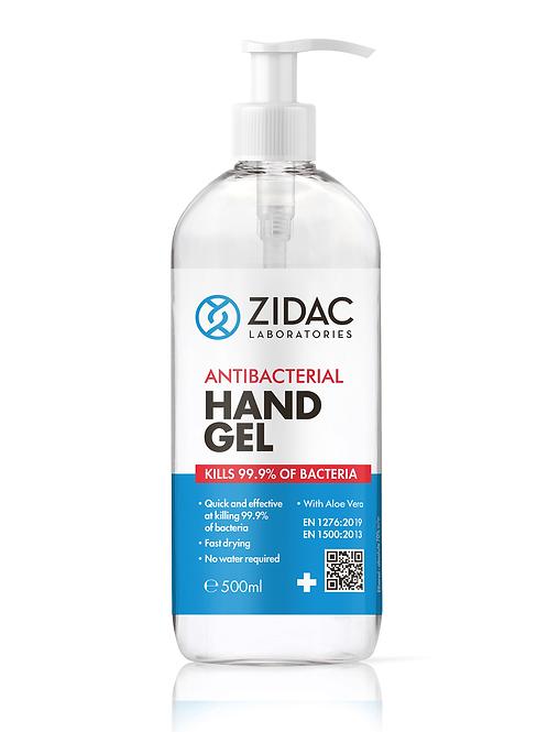 Antibacterial hand sanitiser gel 500ml