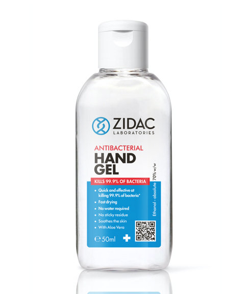 Antibacterial hand sanitiser 50ml