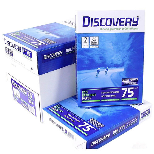 2X Boxes of Discovery 75gsm A4 Papers