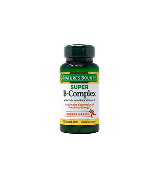 Nature's Bounty Super Vitamin B Complex - 150 Tablets