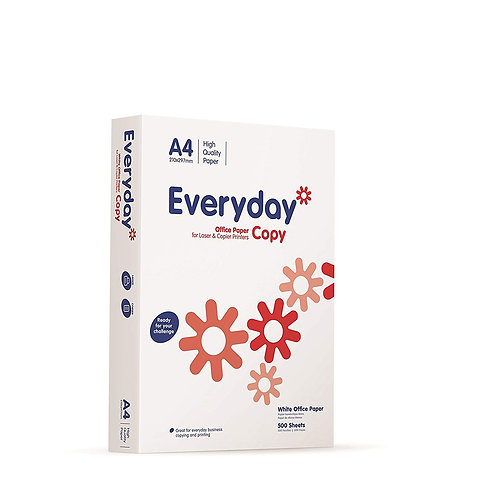 2X Boxes of Everyday A4 Paper 80 gsm