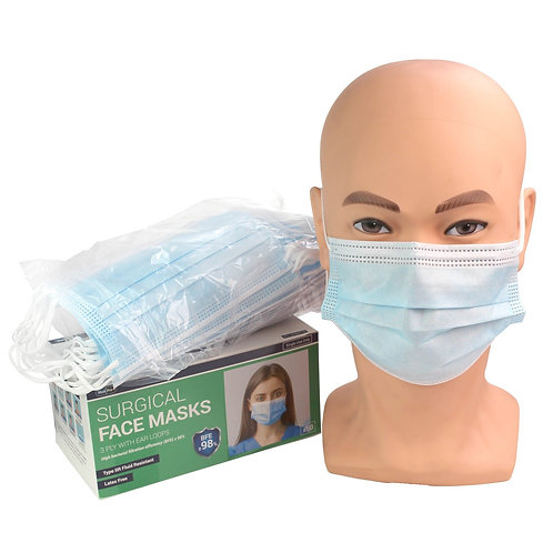 3 Ply Surgical Face Masks Type IIR