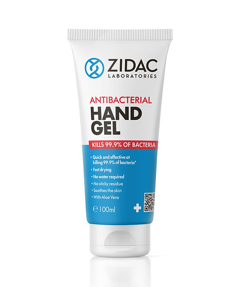 Antibacterial hand sanitiser gel 100ml