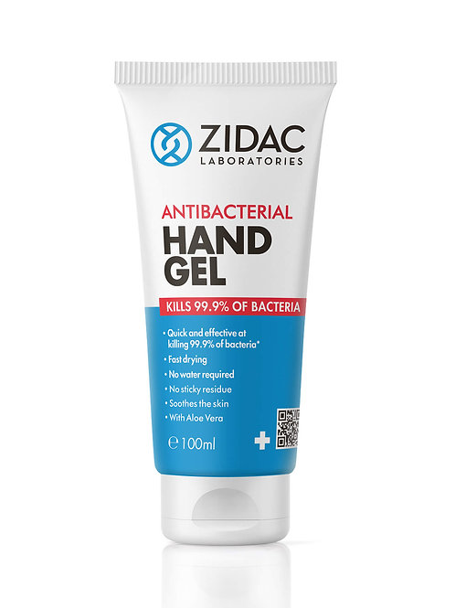 Antibacterial hand sanitiser gel 100ml