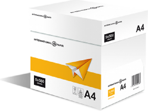 A4 Printing Paper White 75 gsm IP Universal (Box of 10 Reams)