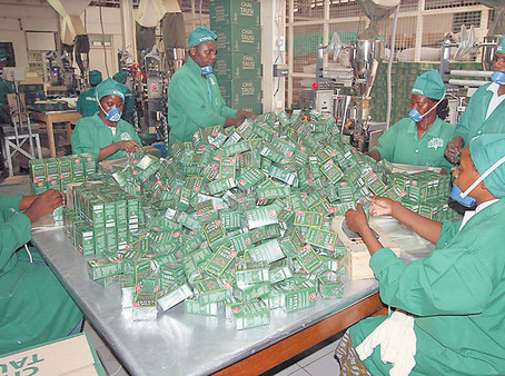 Consumer Goods:  Money to be made at the grass roots