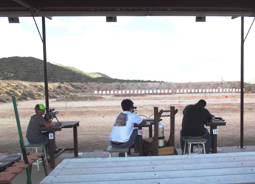 Shooting the 100yards