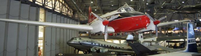 Some of the famous aircraft at Duxford