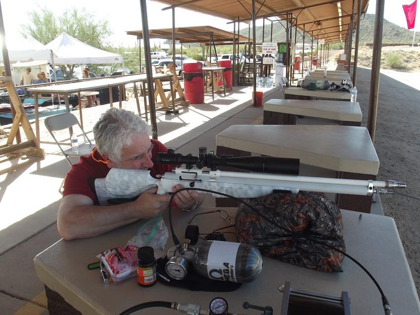 Testing the Helium Rifle