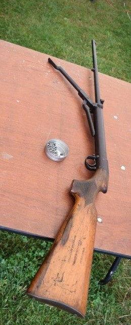 Lincoln Jeffries Patent Airgun
