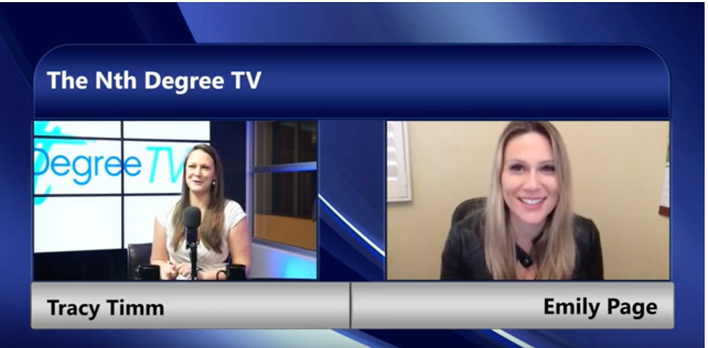 Getting to know Emily Page - Taking Personal Experiences In The Professional Path