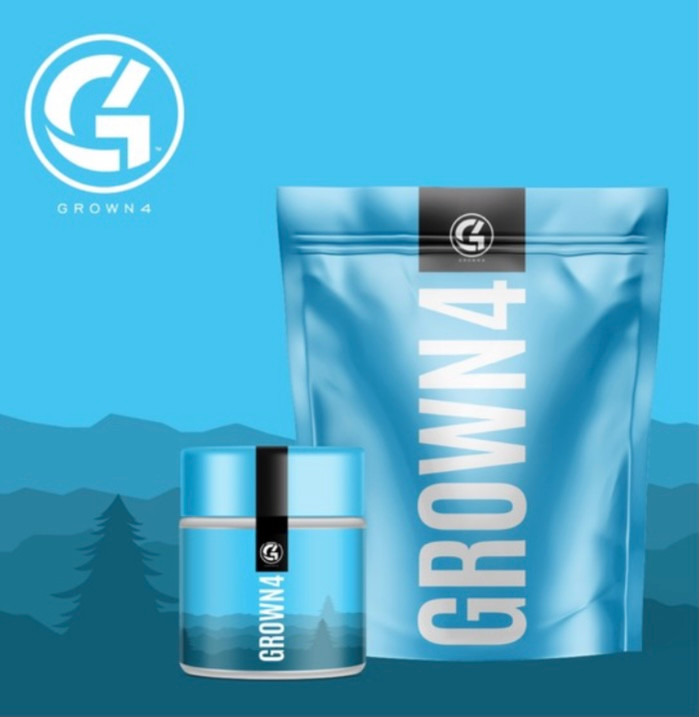 CBD brand GROWN 4 creates a stunning look as a leading edge emerging brand in the category.