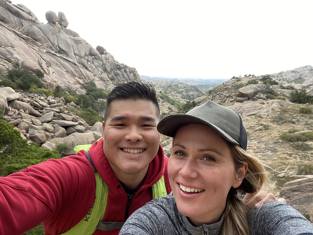 Nothing like a good hike with Dylan Lin.