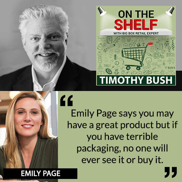 Emily Page Interviewed by Tim Bush for On The Shelf Podcast