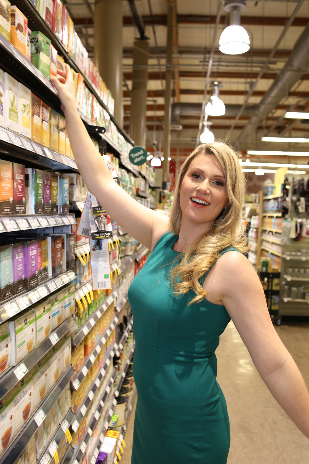 Here I stand admiring the packaging designs in the tea aisle of a Whole Foods in Dallas. The bright orange box caught my eye!