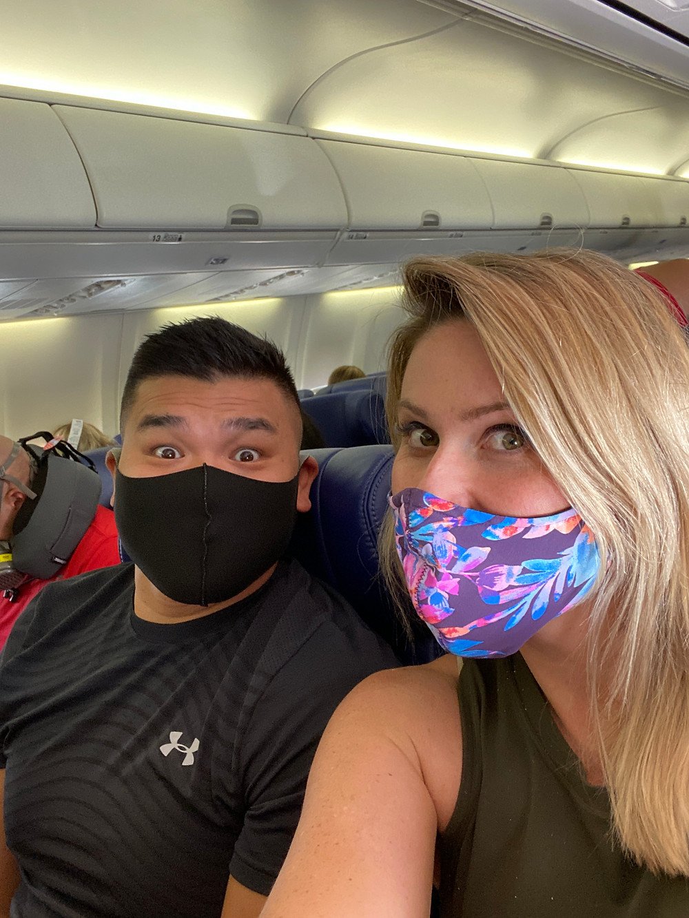 Face masks were necessary all year long in 2021.