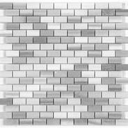 "Bricked 0.6"" x 1.3"" Polished"