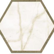 Calacatta/Imperiale Hexagon