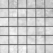 Grey White Mosaic