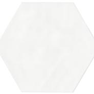 Super White Hexagon