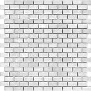 """Bricked 0.6"""" x 1.3"""" Tumbled"""