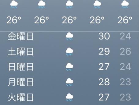 梅雨入り&交通規制