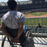 Wheelchair Travel Training to Oakland A's Game