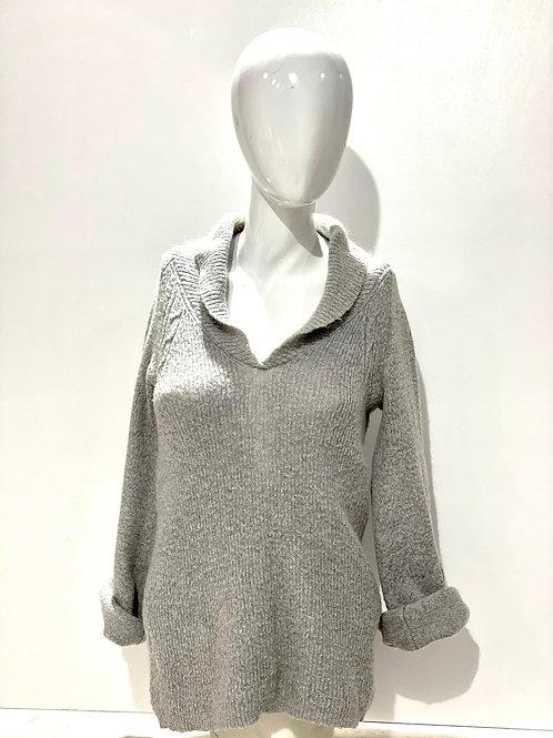 Suéter gris Mango