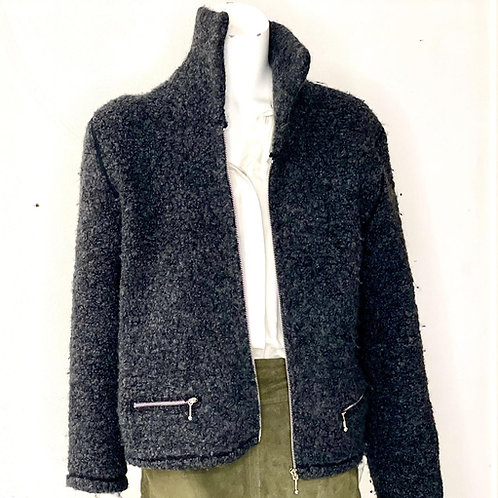 Chaqueta corta de lana
