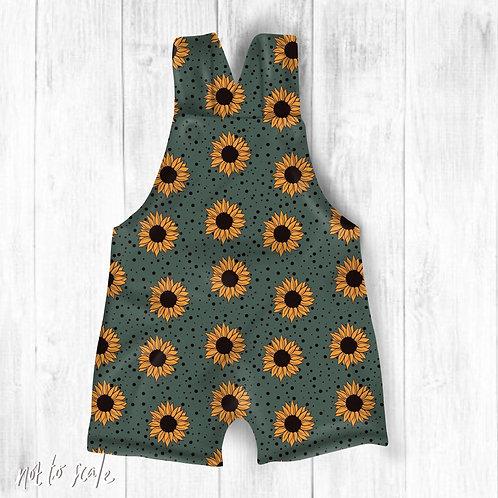 Sunflower Green Spots