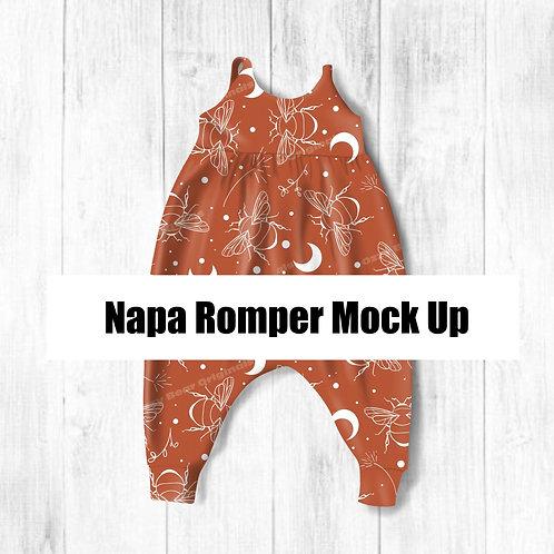 Napa Romper Mockup