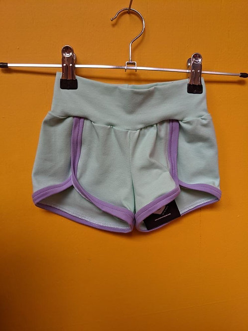 Mint Retro Shorts