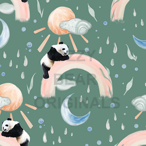 Panda Weather Green