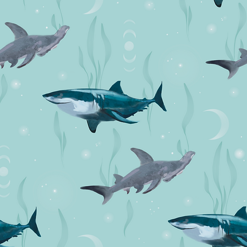 Sharks - Sea Green