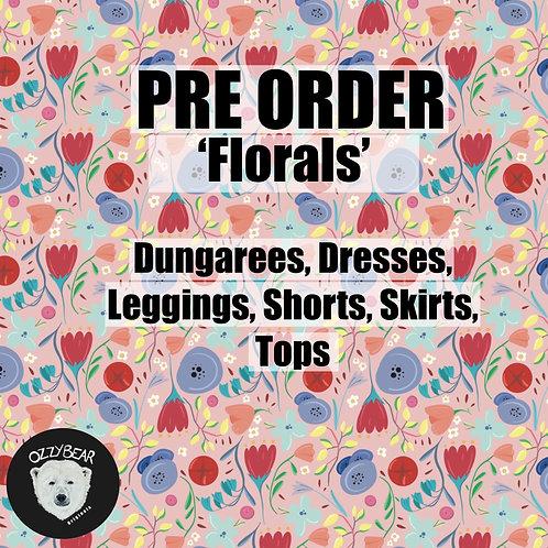 Pre Order Floral