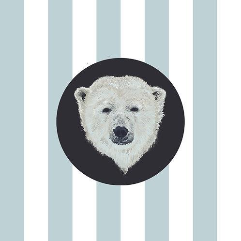 Powder Blue Stripes