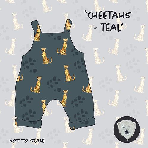 Cheetahs Teal