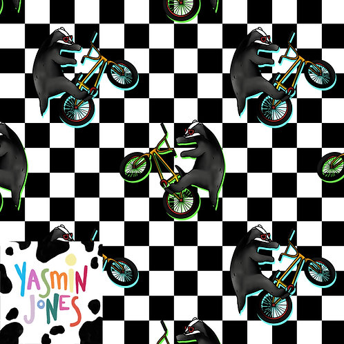 Badger the BMX Bandit